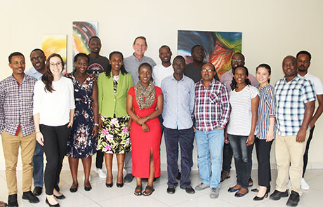Participants and Program Co-Directors in Nyamata, September 2019